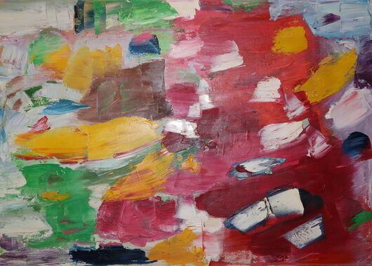 Abstract 3 oil paint ORAHART Israeli painter – Swetlana Zakharyan