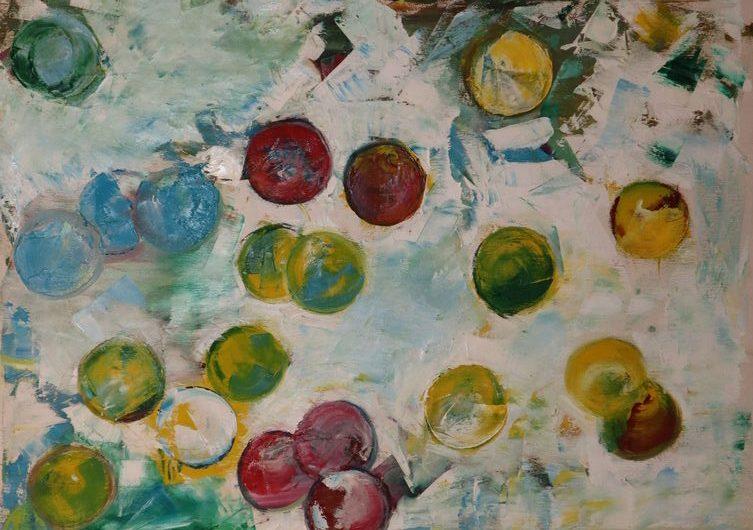 Abstract 4 oil paint ORAHART Israeli painter – Swetlana Zakharyan