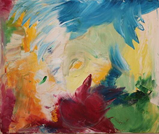 Abstract 5 oil paint ORAHART Israeli painter – Swetlana Zakharyan