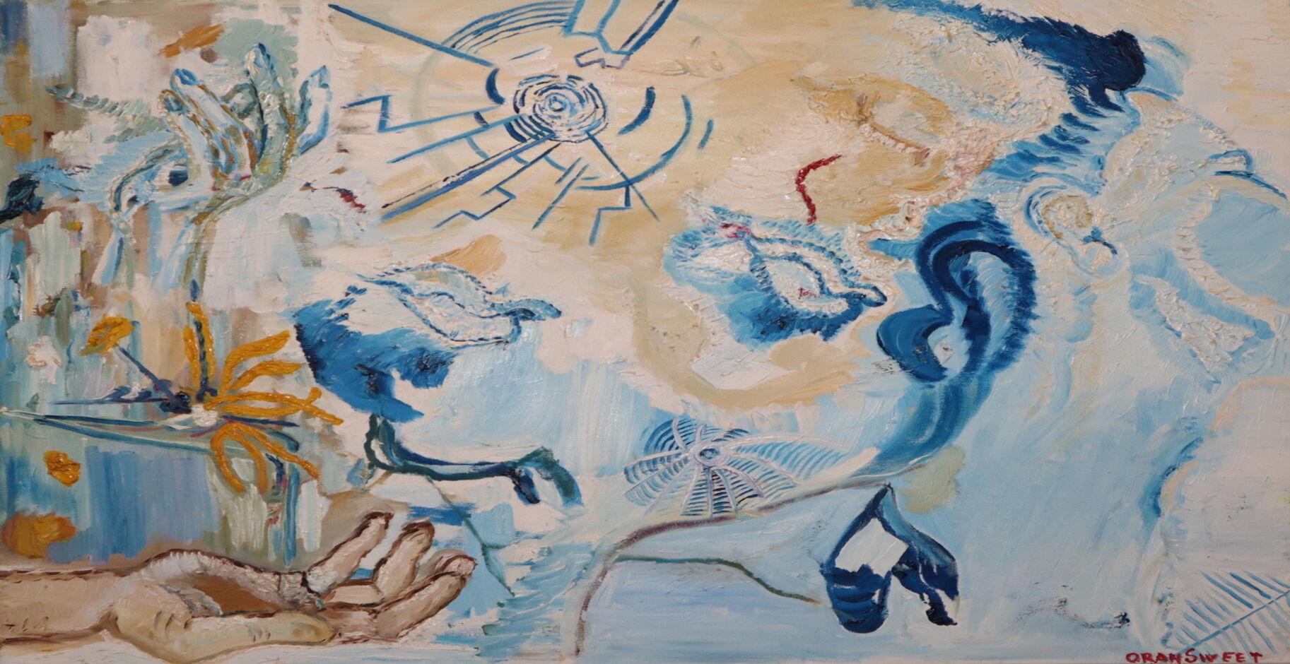 Air oil paint ORAHART Israeli painter – Swetlana Zakharyan