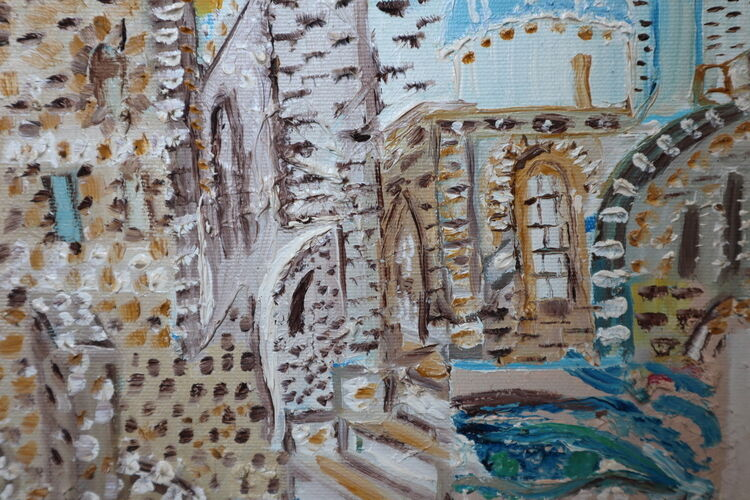 ORAHART oil paint 28 Israeli painter – Swetlana Zakharyan