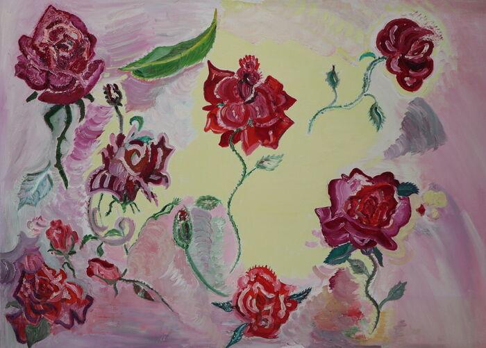 ORAHART oil paint 34 Israeli painter – Swetlana Zakharyan