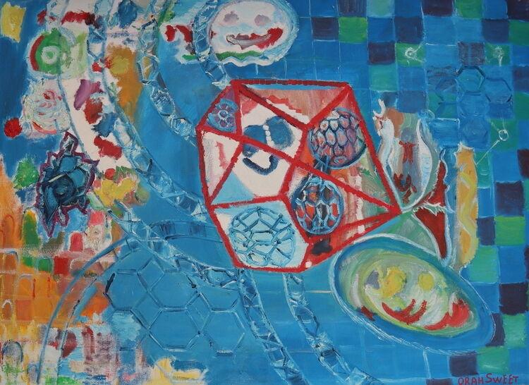 ORAHART oil paint 9 Israeli painter – Swetlana Zakharyan