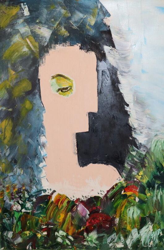 PokerFace oil paint ORAHART Israeli painter – Swetlana Zakharyan