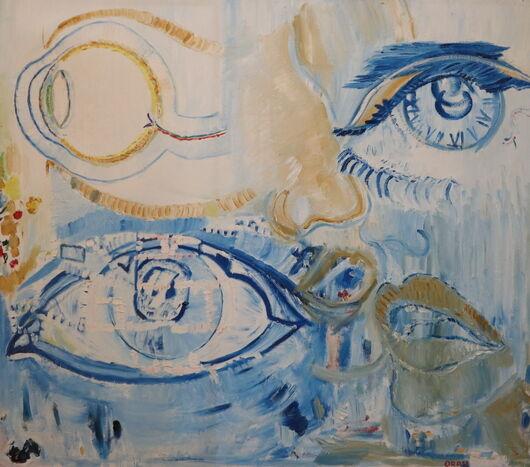 Surrealism 11 oil paint ORAHART Israeli painter – Swetlana Zakharyan