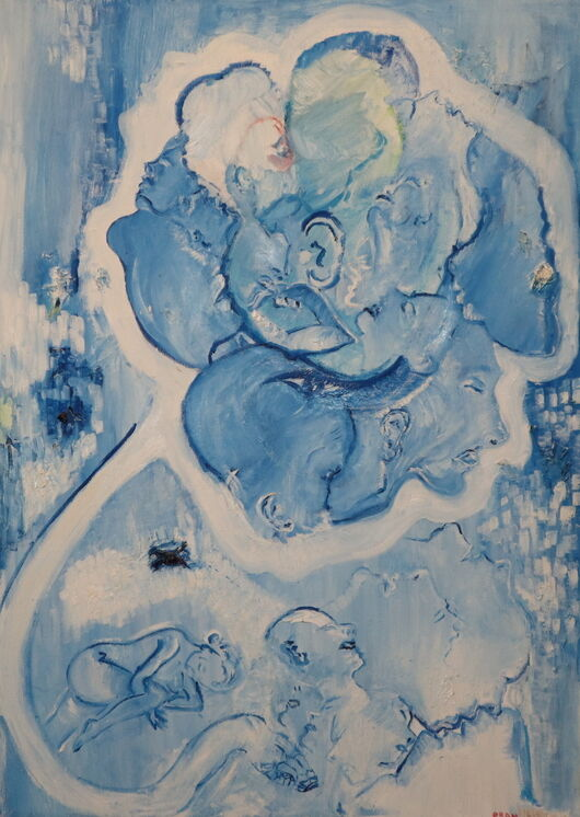 Surrealism 12 oil paint ORAHART Israeli painter – Swetlana Zakharyan