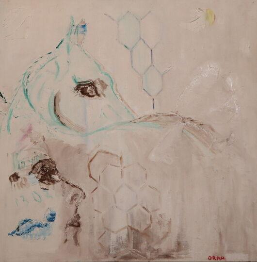 Surrealism 13 oil paint ORAHART Israeli painter – Swetlana Zakharyan