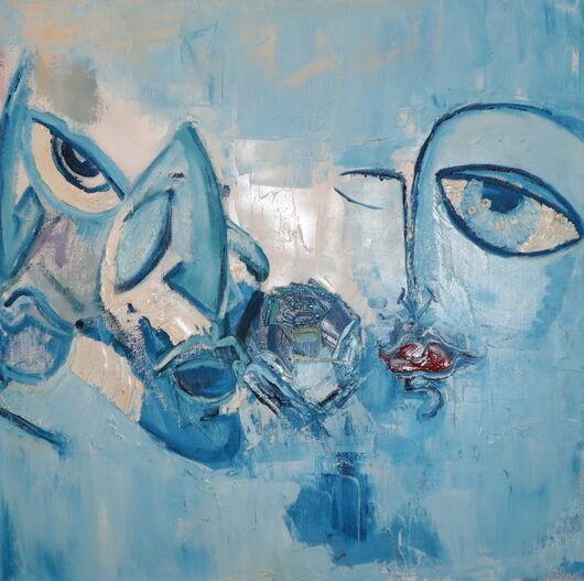 Surrealism 2 oil paint ORAHART Israeli painter – Swetlana Zakharyan