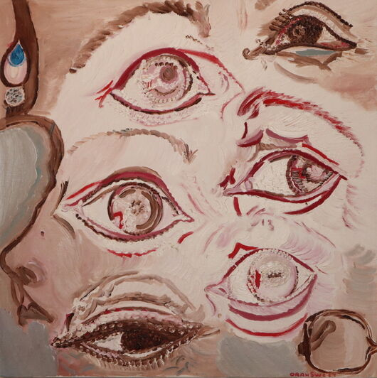 Surrealism 3 oil paint ORAHART Israeli painter – Swetlana Zakharyan