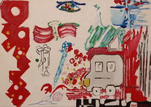Surrealism 5 oil paint ORAHART Israeli painter – Swetlana Zakharyan