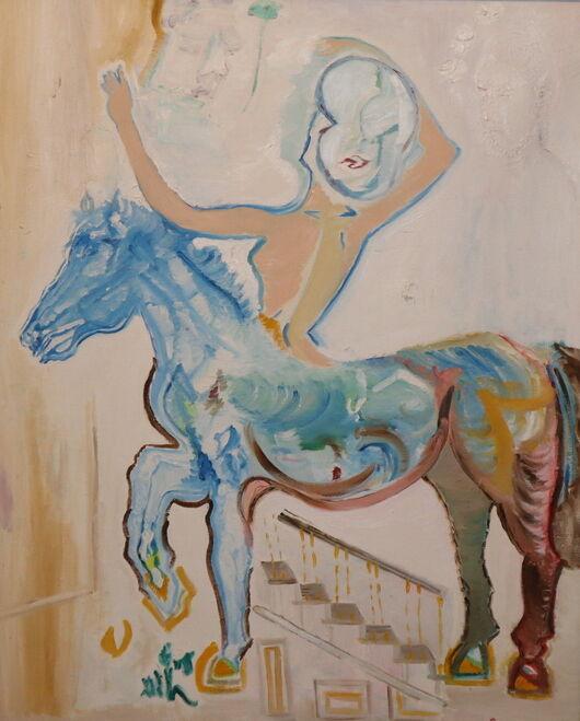 Surrealism 7 oil paint ORAHART Israeli painter – Swetlana Zakharyan