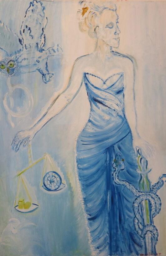 Surrealism 8 oil paint ORAHART Israeli painter – Swetlana Zakharyan