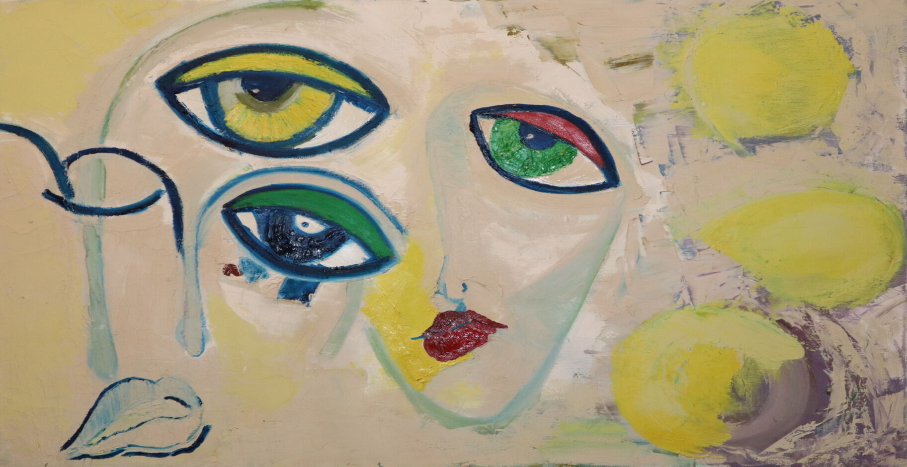 Surrealism oil paint ORAHART Israeli painter – Swetlana Zakharyan