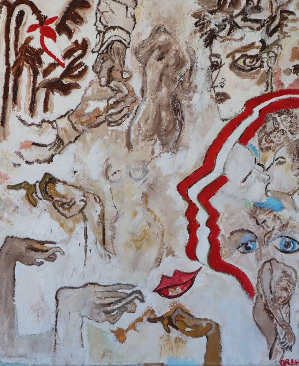 with Egon Schiele